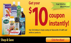 Save $10 off at Vitacost