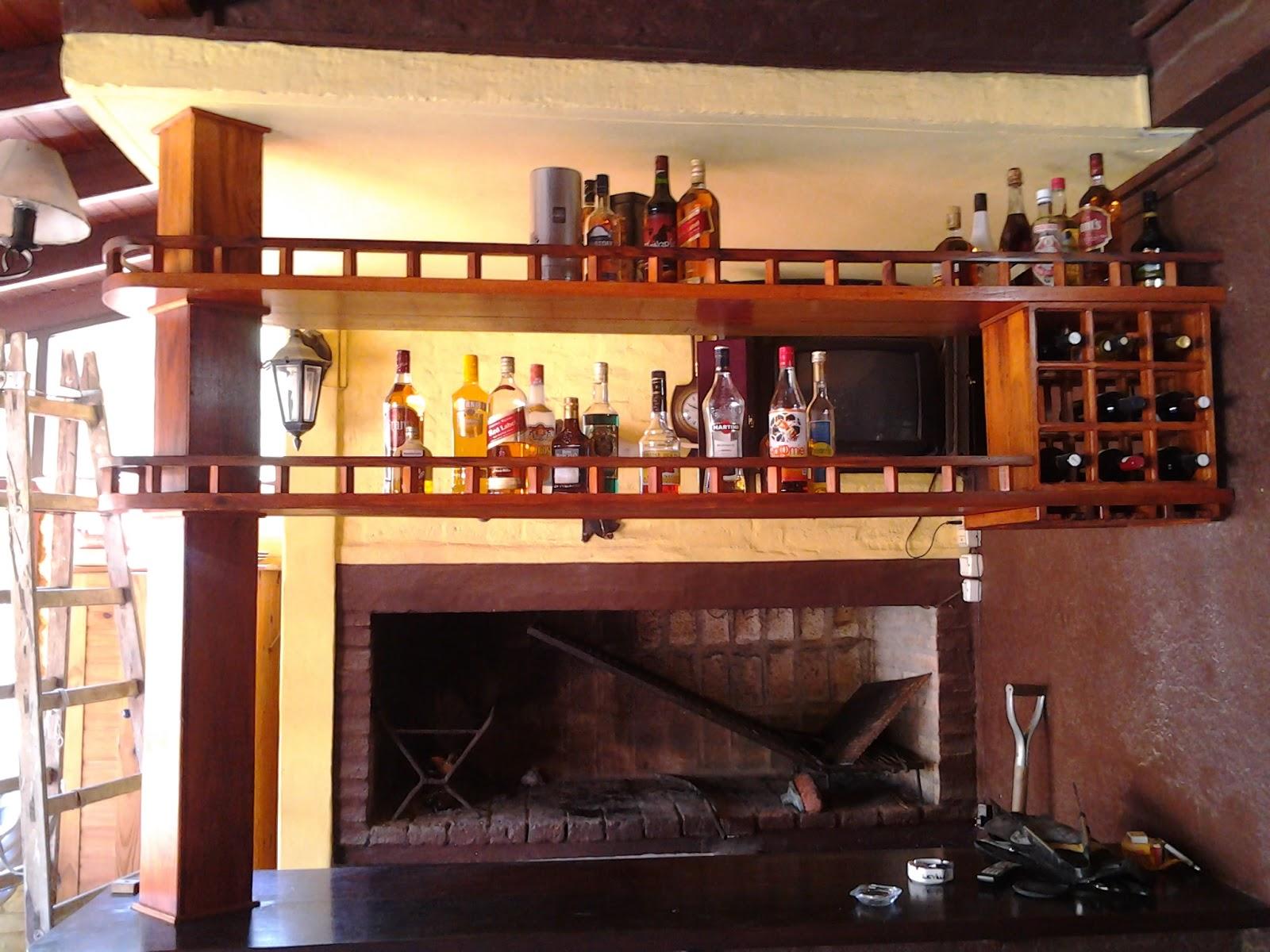 Deco Galera Repisa Bar En Curupay