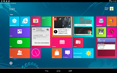 Launcher Windows 10 untuk Android | Andromin