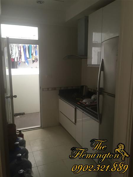 cho thuê căn hộ flemington 86m2 phòng bếp