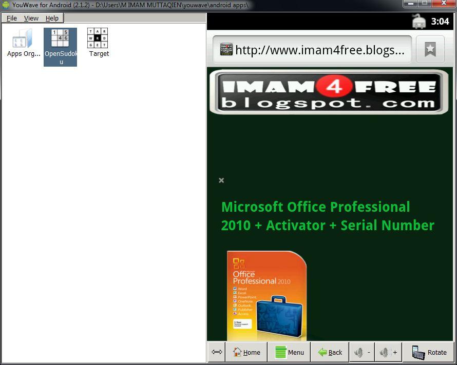 YouWave Emulator Crack And Activation Key Full Download