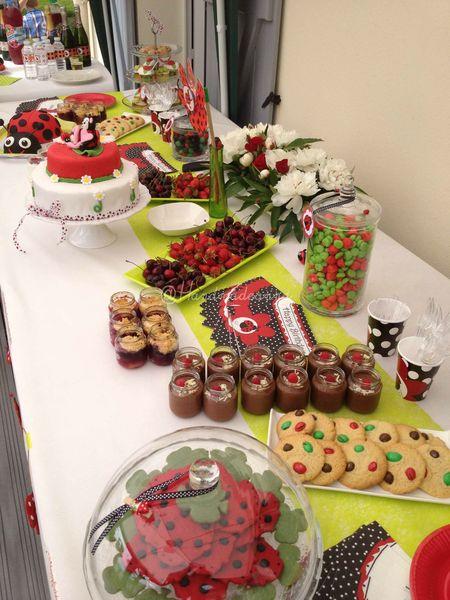 buffet anniversaire 1an