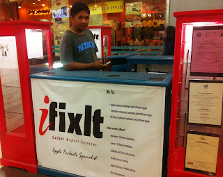 ifixit stall at Cagayan de Oro City Philippines