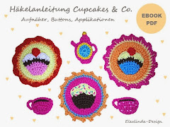 "Ebook ""Cupcakes & Co."" Aufnäher, Buttons"