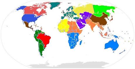 Il Mondo Futuro Classico con 15 Stati