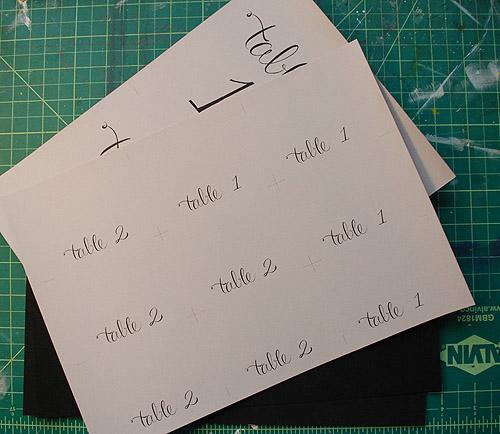 Numery na stoliki DIY - tutorial jak zrobić Eco Manufaktura