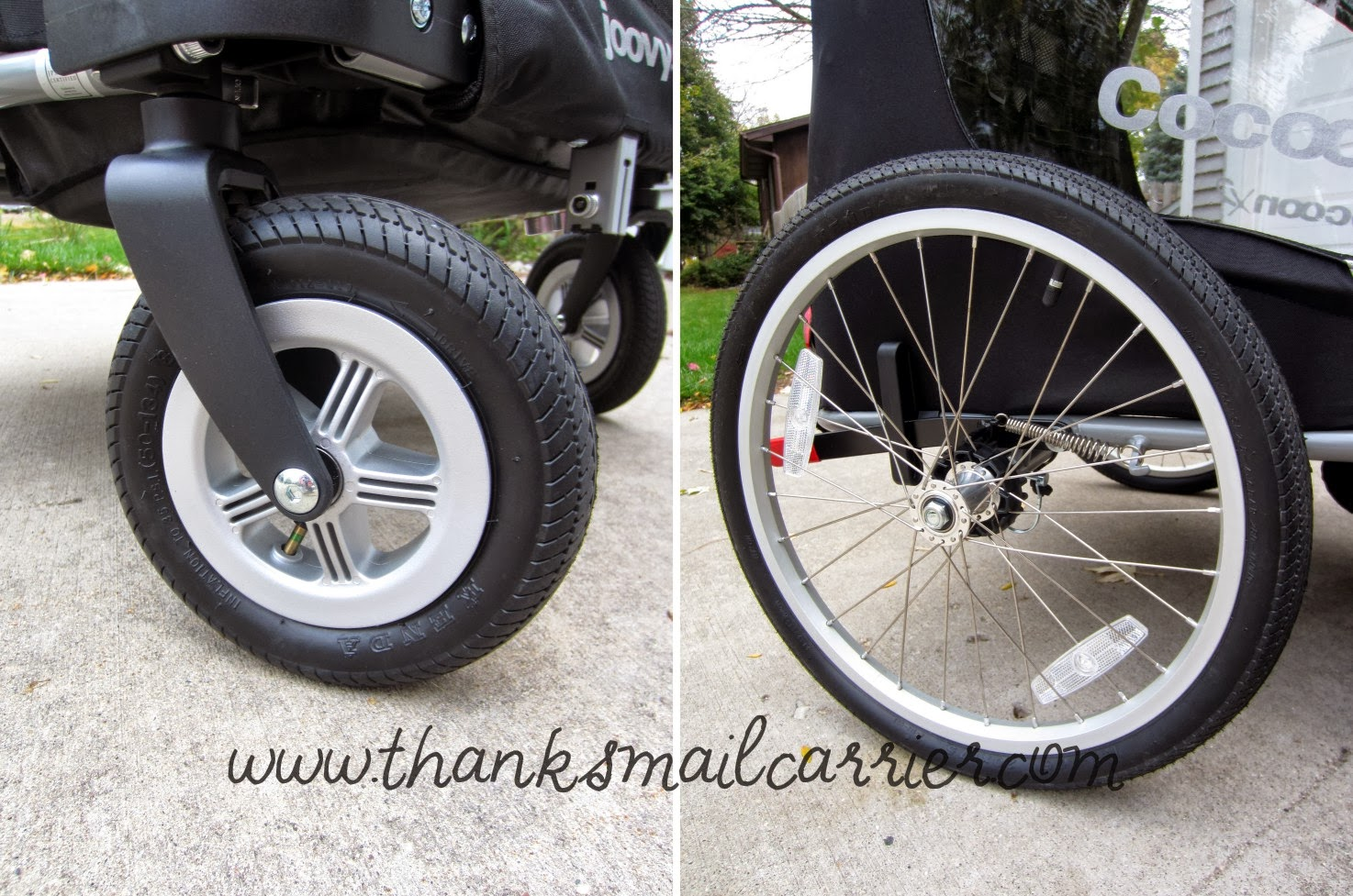 Joovy CocoonX2 wheels