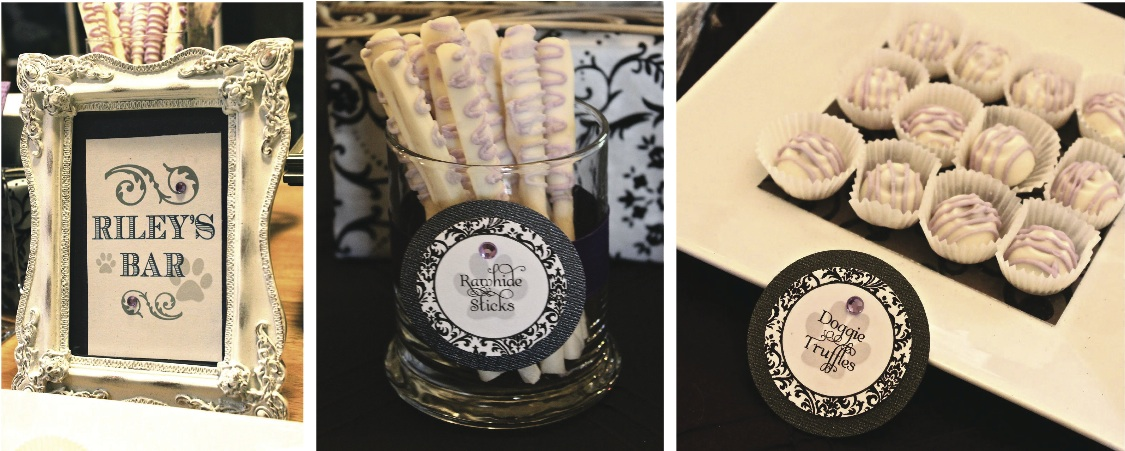 wedding truffle candy table Boyd Wedding Cake 300x273 Walmart
