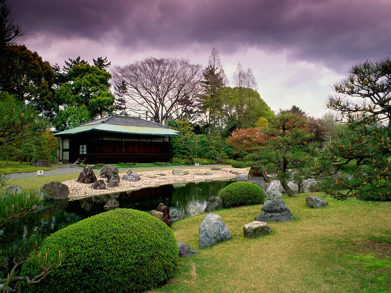 Full Wallpaper Japanese Garden Wallpaper