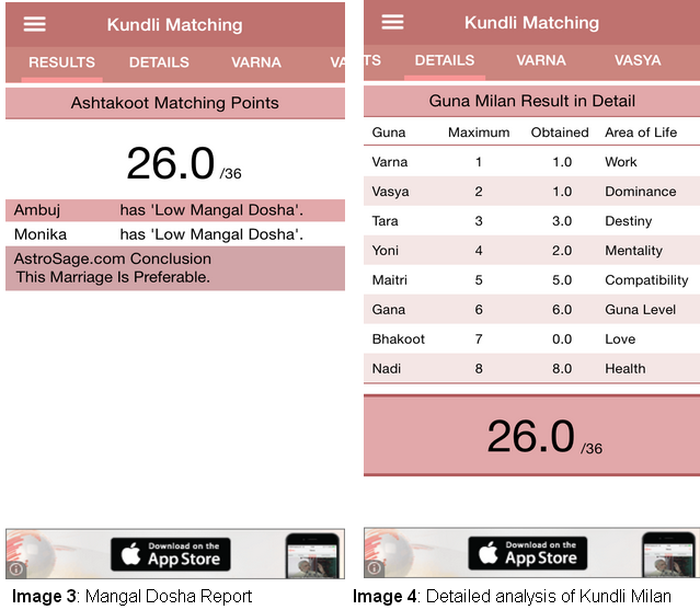 Match making kundli app