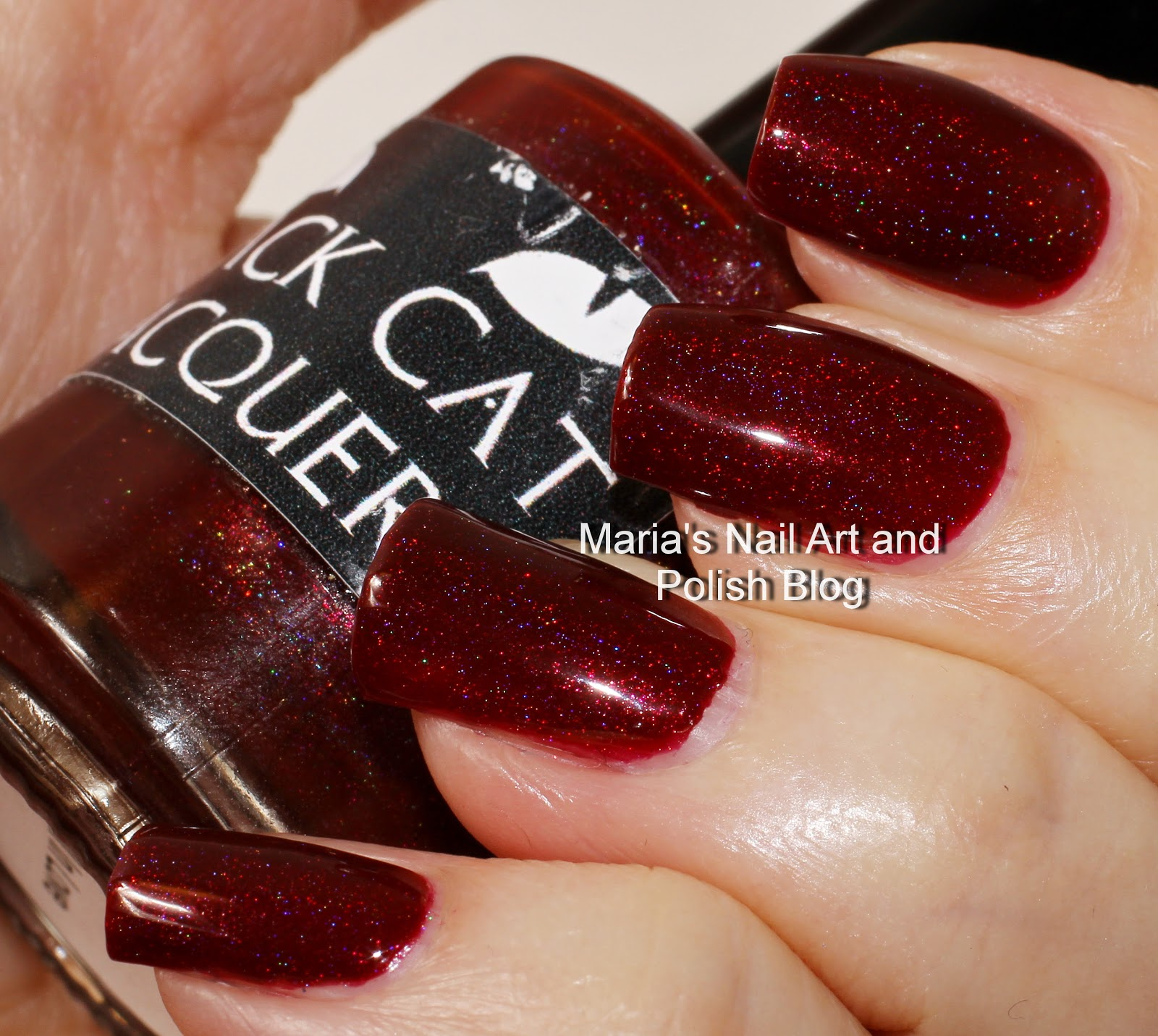 Marias Nail Art And Polish Blog Flushed With Stripes And: Marias Nail Art And Polish Blog: Black Cat Lacquer Fall In