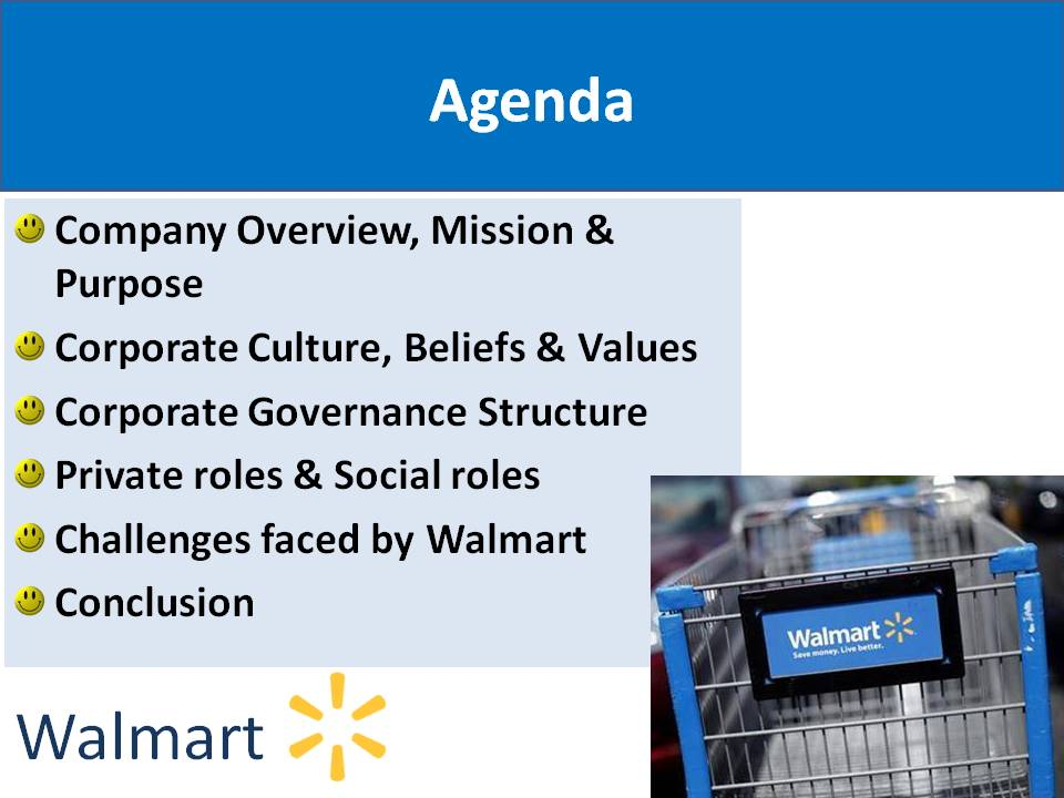 wal mart company overview essay example