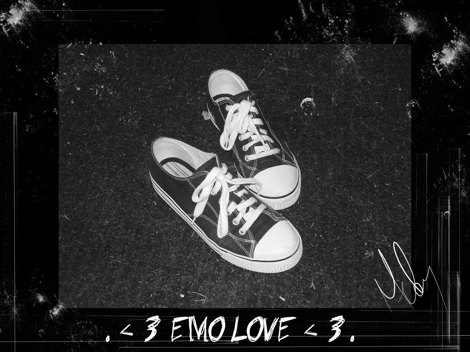 Wallpaper Emo Love Bergerak : Gambar Emo Hitam Download Gratis