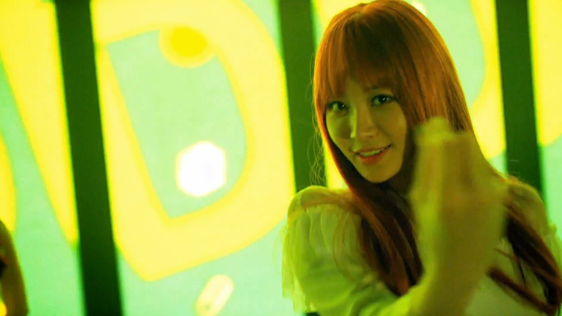 Girl's Day Yura in Hello Bubble MV