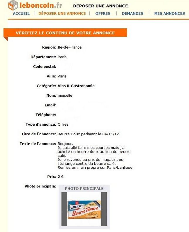 La Bretagne sur le Bon Coin (Humour) ~ Blog Ar Vro