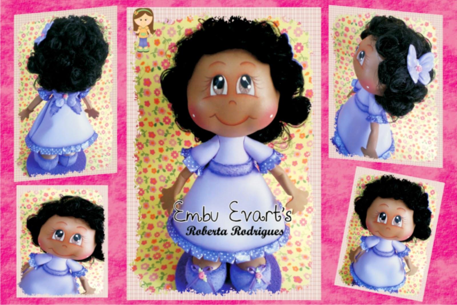 boneca moreninha