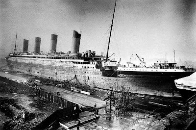 RMS Titanic's construction, Docking bay in Southampton