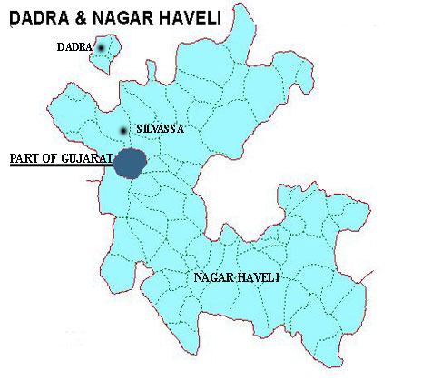 Dadra And Nagar Haveli Map Info Tourism Capital