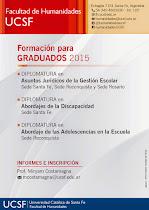 Formación para Graduados 2015