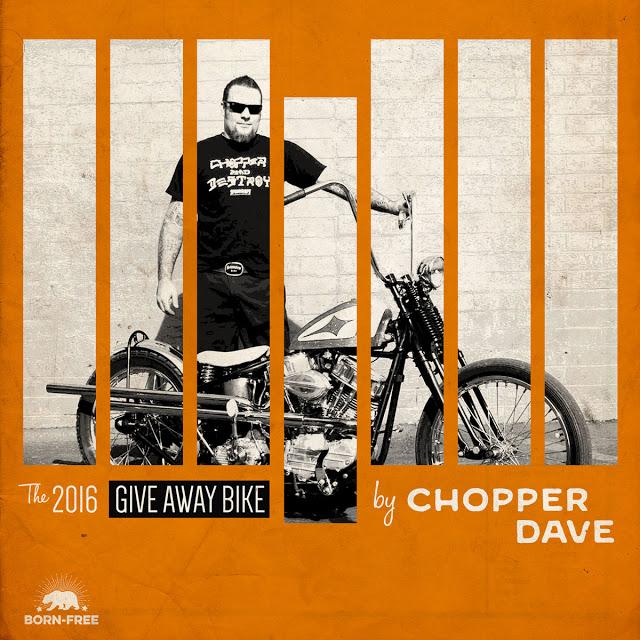 Born Free 8 Giveaway Bike by Chopperdave
