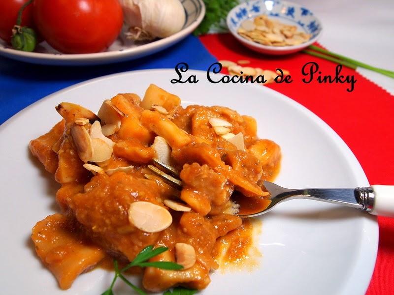 CALAMARES CON SALSA DE ALMENDRAS  Calamares+con+salsa+de+almendras+2