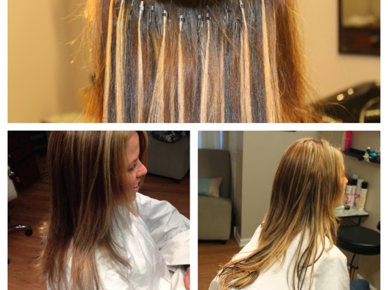 How to do hair extensions strand by strand i tips with micro tammy favata hairstylist pmusecretfo Image collections