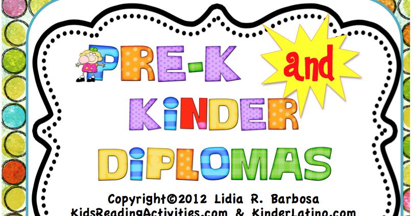 classroom freebies  diplomas for pre