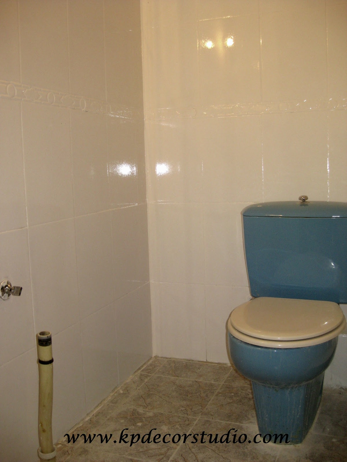 Kp decor studio reformando el ba o reforming the bathroom - Azulejos para banos leroy merlin ...