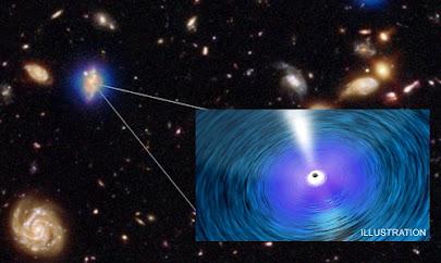 بزرگترین سیاهچالهها سریعتر از کهکشان میزبانشان رشد میکنند