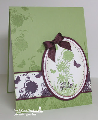 North Coast Creations Heaven's Masterpiece, ODBD Custom Ovals and Stitched Ovals Dies, Card Designer Angie Crockett