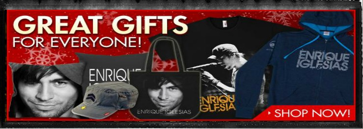 Enrique Iglesias Merch: