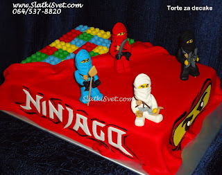 Torta Ninjago - lego ninjago