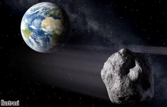 Asteroid Berdiameter 20 Meter Bakal Lintasi Bumi pada Jarak Dekat