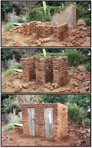 Pit Toilets Construction : Bom dia mozambique the pit latrine