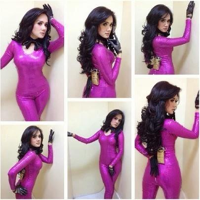 Gambar Foto Mulan Jameela Model Rambut Terbaru 2014