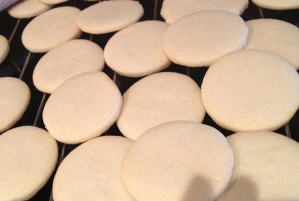 preparar galletas para decorar (receta para galletas de mantequilla