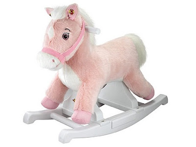 Rockin' Rider Plush Pony