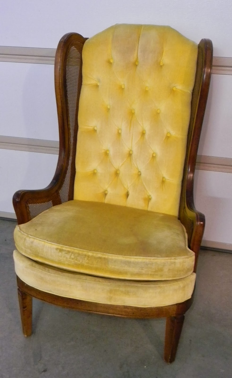 Charming Painted Upholstered Chair