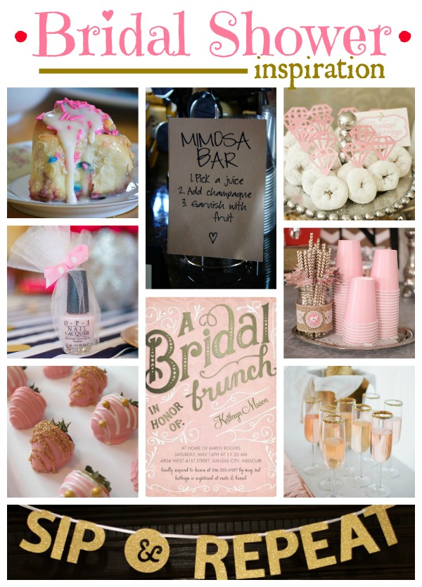 my bride started with two initial requests pink gold and mimosas so ive taken those ideas and ran heres my inspiration board so far
