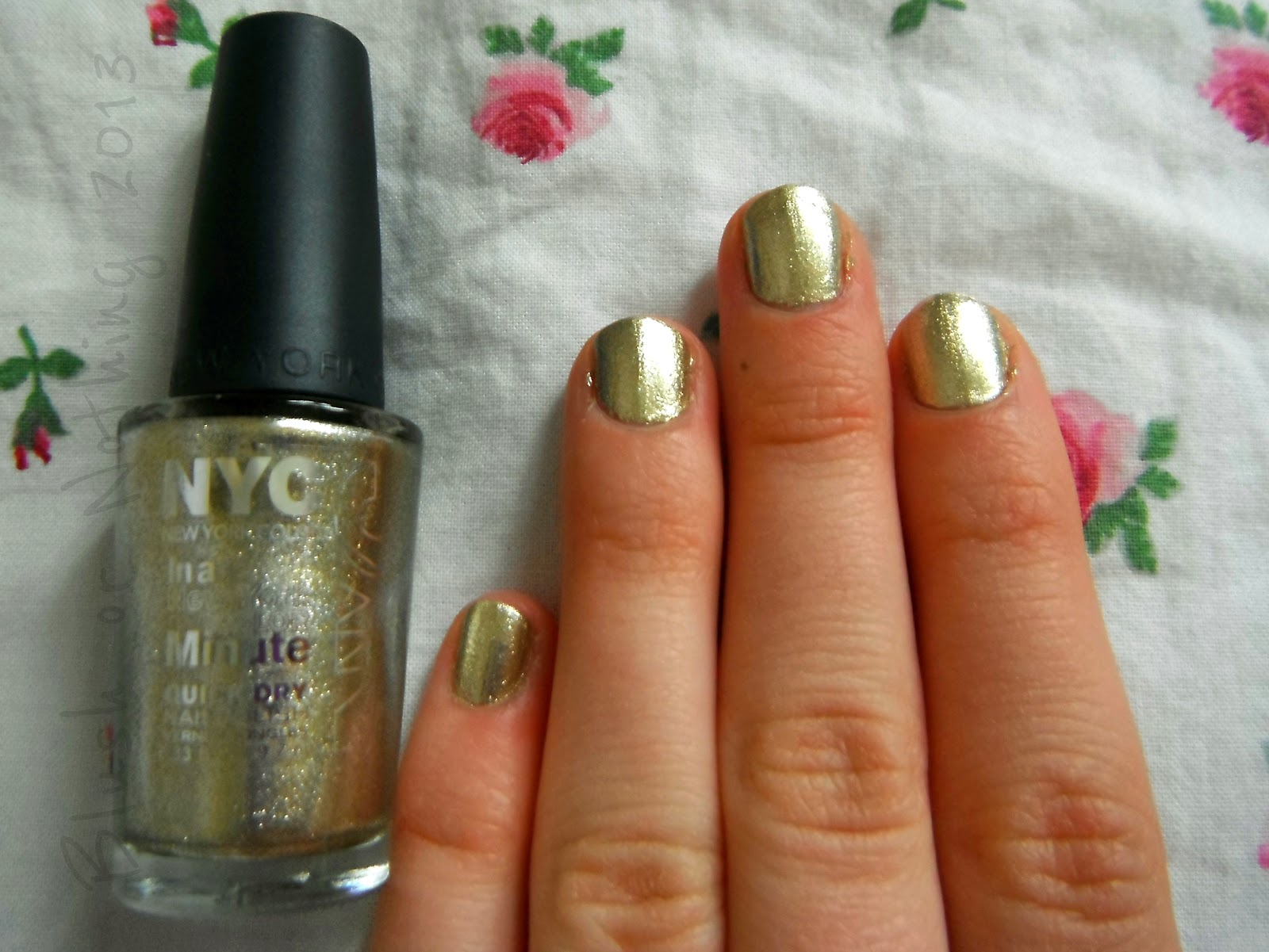 BLUSH OR NOTHING: NYC Full Metal Jacket Review & Swatch.