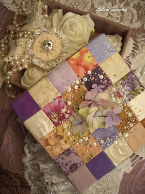 Box with patchwork