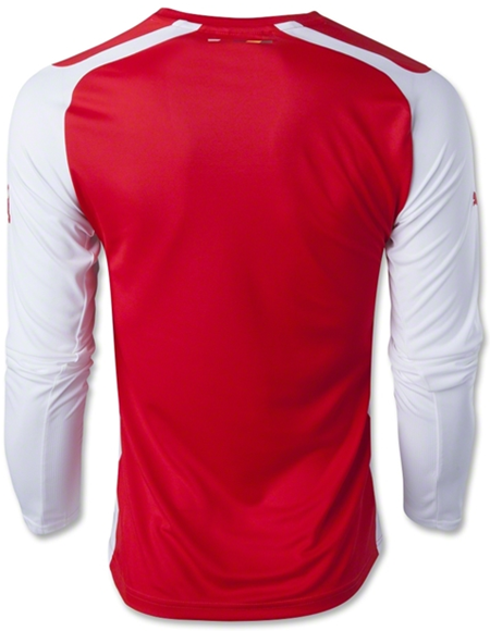 Arsenal 14-15 LS Home Soccer Jersey