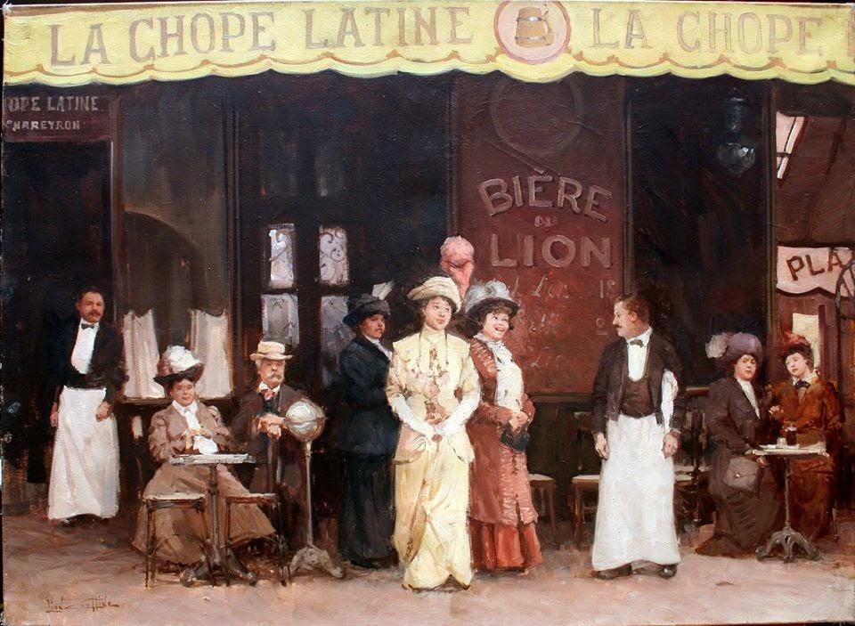 Leon Zeytline La Chope Latine