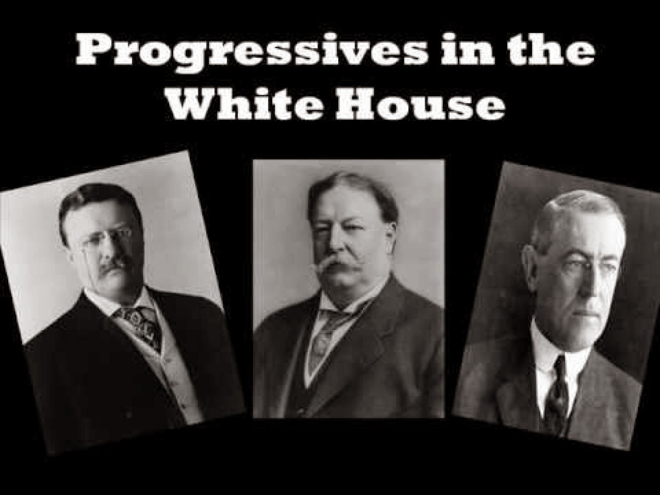 discussion on progressive era presidents View homework help - discussion 5 progresive era t roosevelt from amh 2020 at santa fe college 2 how did the federal government tackle the problem of monopolies and.