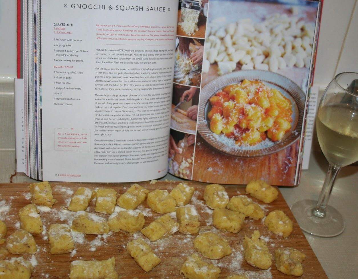 Cook wine and thinker gnocchi squash sauce comfort food cookbook i was recently given jamie olivers new comfort food cookbook for my birthday its got fabulous recipes for folks who love to spend time in the kitchen he forumfinder Image collections