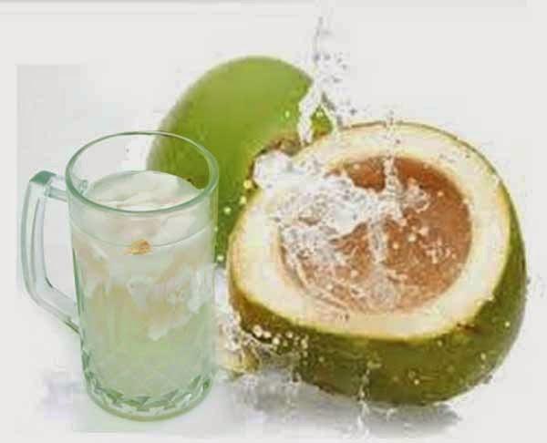 minum air kelapa ketika hampir tarikh jangkaan bersalin