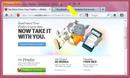 how to personalize firefox