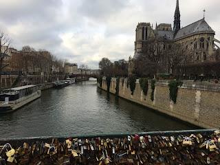 Notre Dame, Pont des Arts, Paris
