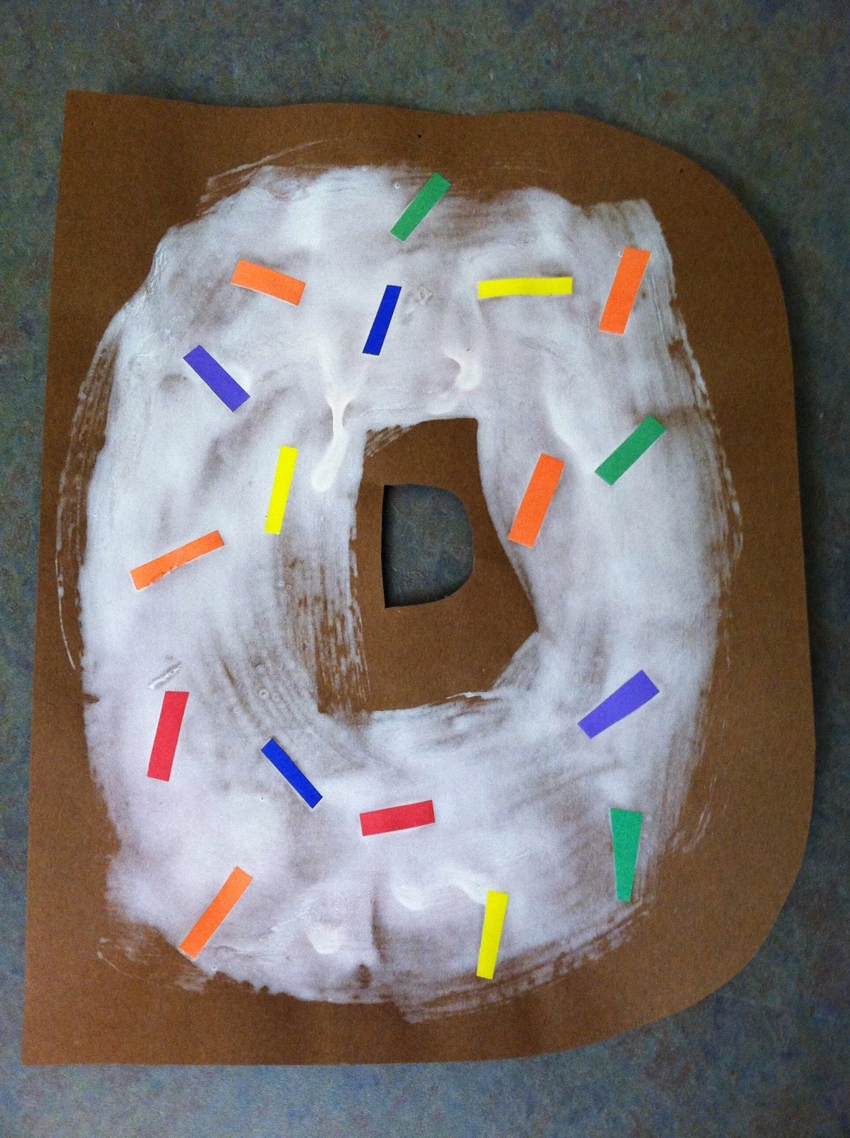 Storytime Donuts on Letter M Crafts Preschoolers