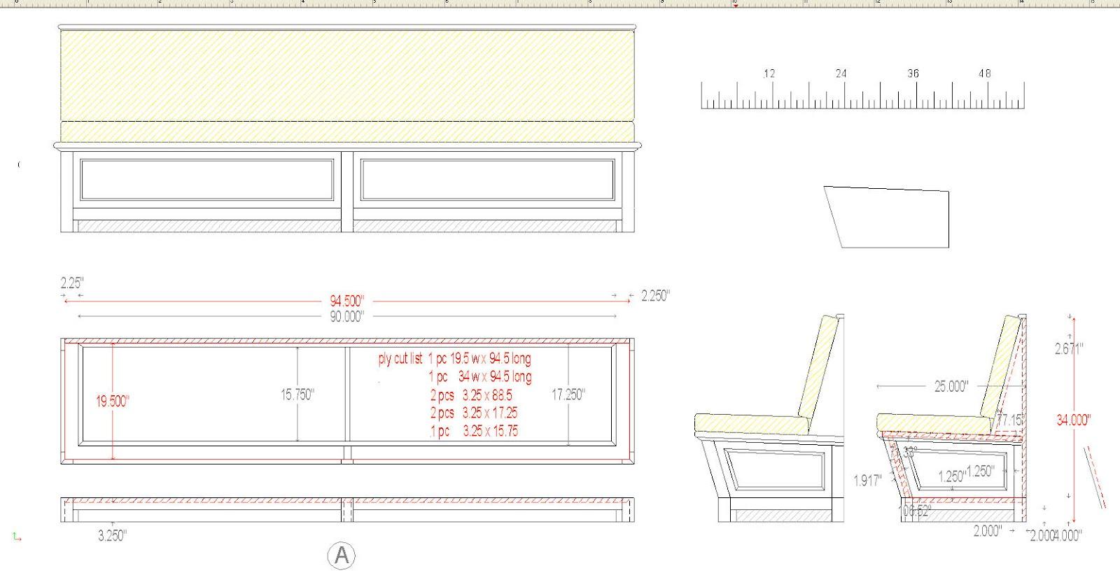Reception Desk Detail Cad Drawing Reception Desks